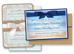 BEACH / OCEAN INVITATIONS