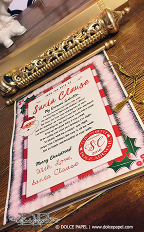 NEW! Letters From Santa Clause