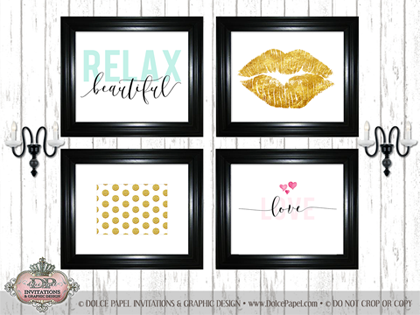 NEW! FRAMED WALL ART